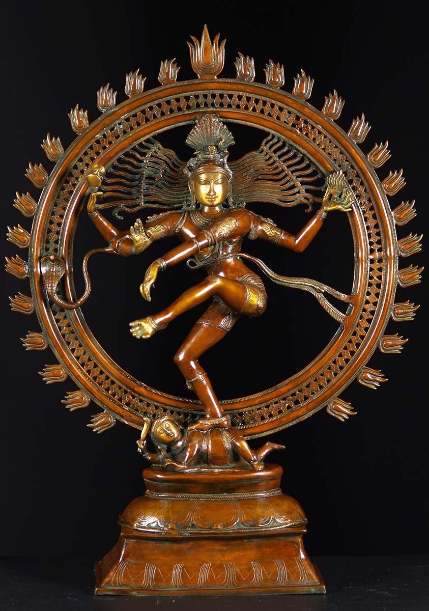 Sculpture Hd Wallpapers Brass Large Dancing Nataraja Statue 41 Quot 61bs50z Hindu