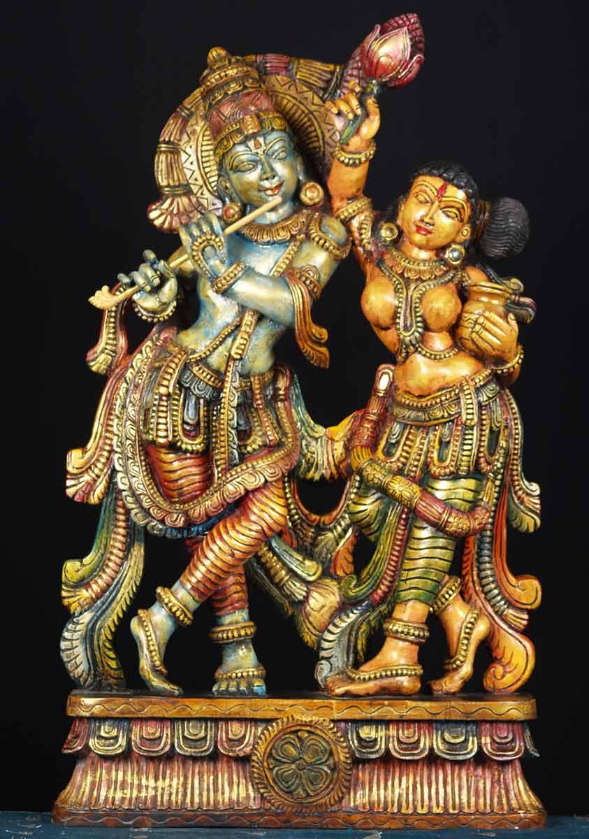 Lord Shiva Black Hd Wallpapers Sold Wood Radha Krishna Statue 36 Quot 65w15h Hindu Gods