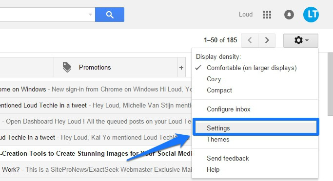 Get Desktop Notifications for Gmail in Chrome