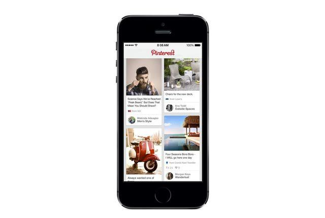 Get the Pinterest Mobile apps