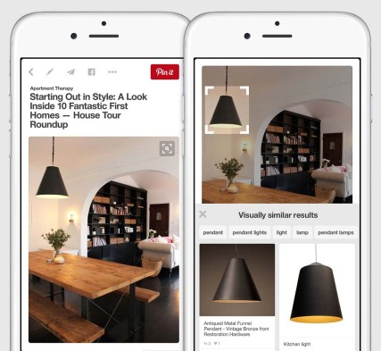 Visual Search Tool from Pinterest For Reverse Image Search