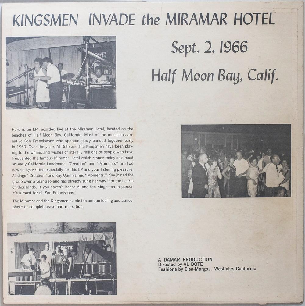 LP-Al_Dote_Kingsmen-Mirmar_HalfMoonBay-B-back-m