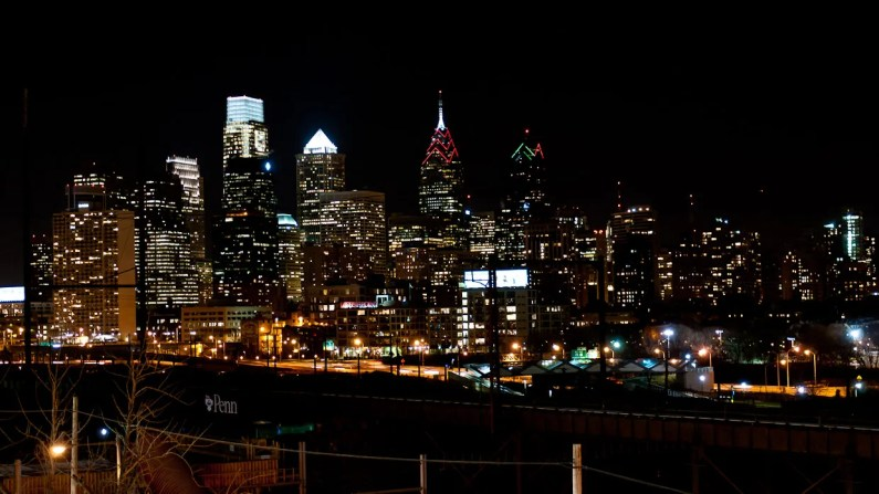 Philadelphia-Skyline-Night