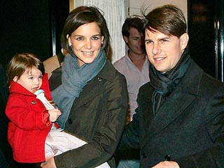 Custody of Suri Cruise in Holmes Cruise Divorce