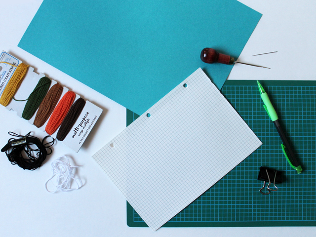 How to Cross Stitch on Paper  A Fox and an Owl Loulou Downtown