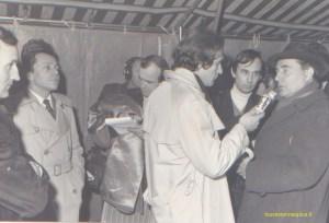 Michel Rocard et François Mitterrand dans les Yvelines en 1978