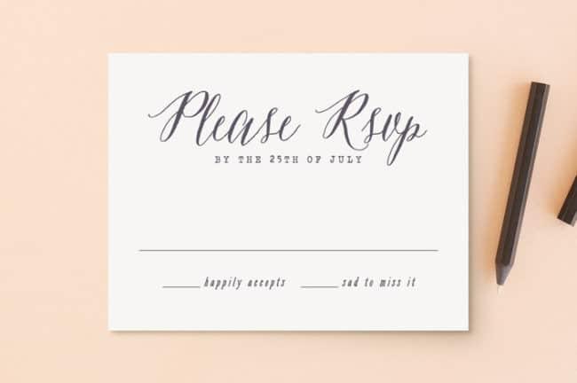 Wedding RSVP Etiquette 9 Tips All Brides Should Know
