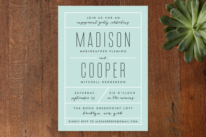 How to Word Engagement Party Invitations (with examples) - how to word engagement party invitations