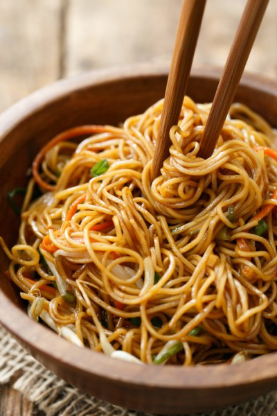 Soy Sauce Noodles | Love and Olive Oil
