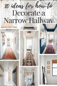 Narrow Hallway Decorating Ideas // Love & Renovations