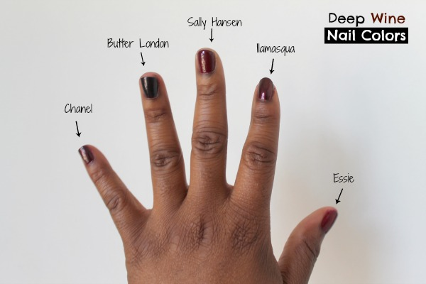 Natural Nail Color For Dark Skin Best Nail Designs 2018