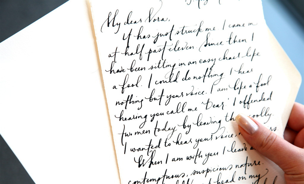 A Love Letter to the Man of my Dreams Love Dignity - love letter