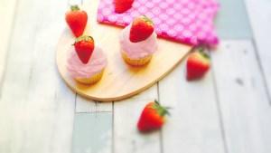 pink velver cupcakes