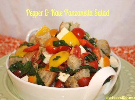 Pepper Kale Panzanella 11