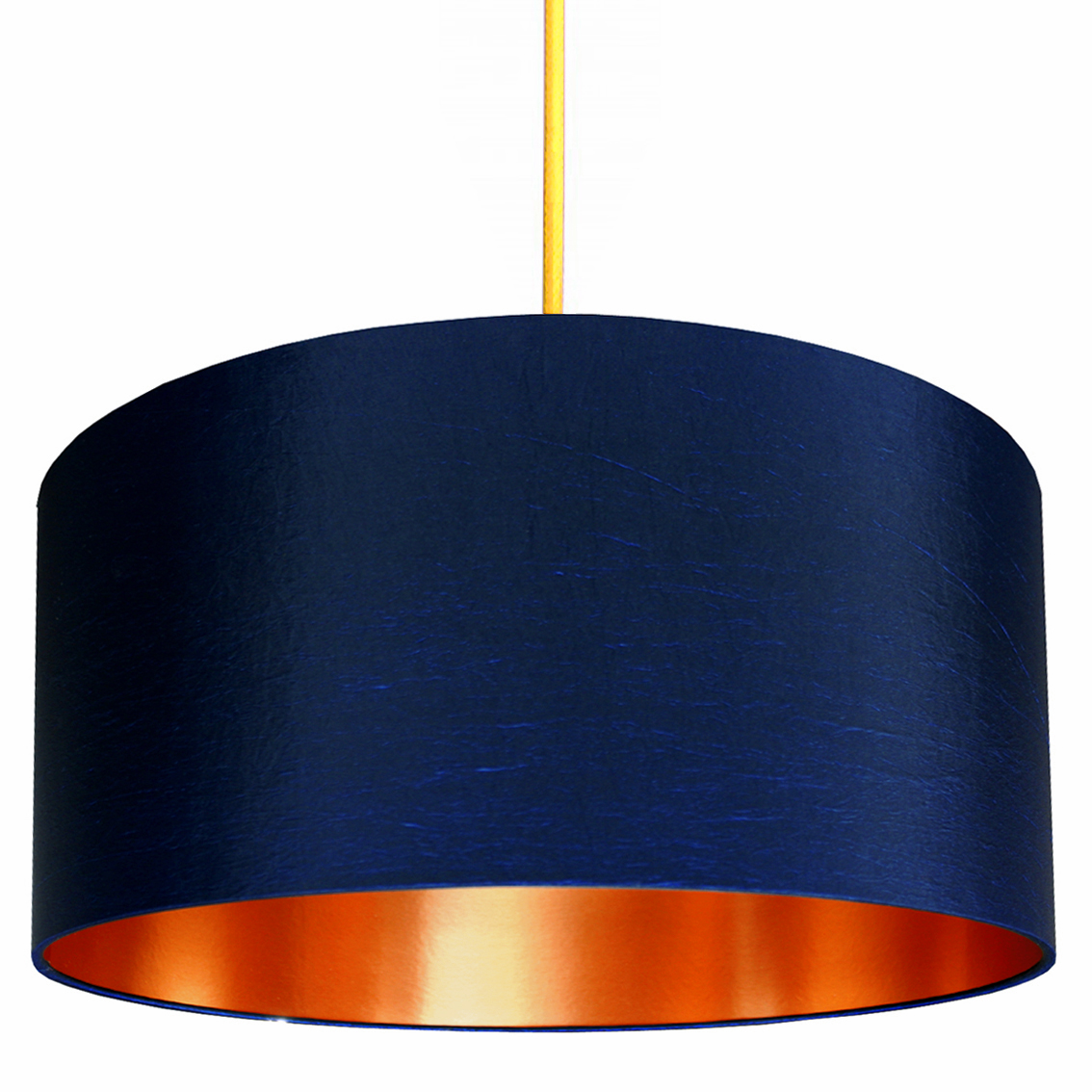 Neon Animal Print Wallpaper Midnight Lampshade With Brushed Copper Lining Love Frankie