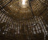 Natural Rattan Ceiling Pendant Light | Love Frankie