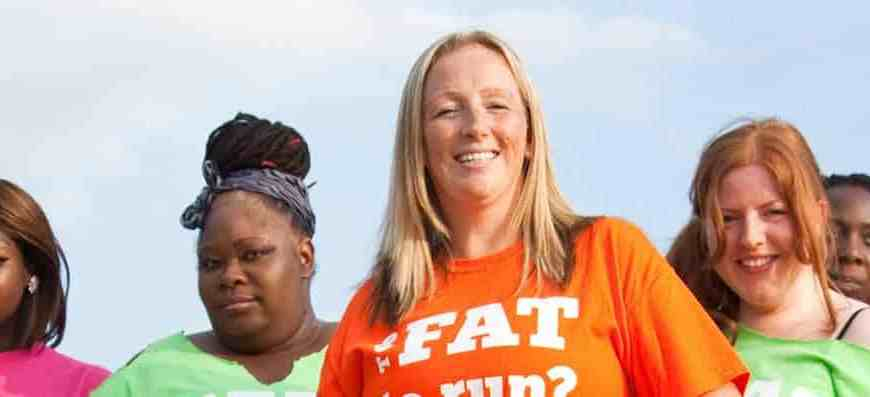 Julie Creffield, creator of The Fat Girls' Guide To Running, told TODAY.com she wants to inspire people who are overweight to live healthier lifestyles.