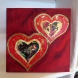 heart art detail