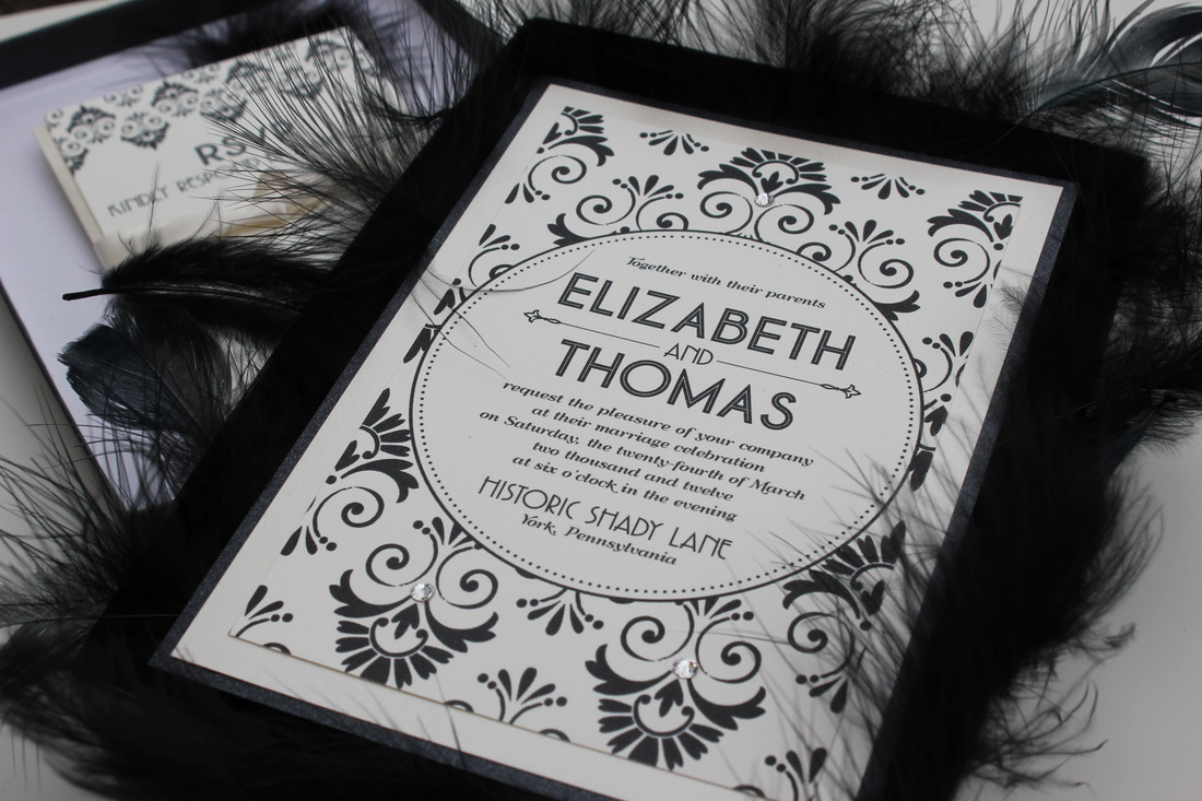 event mock wedding great gatsby wedding invitations This weekend my friend Amy at Party Belles is hosting a mock wedding at Historic Shady Lane a new wedding venue in York County The theme has a Great