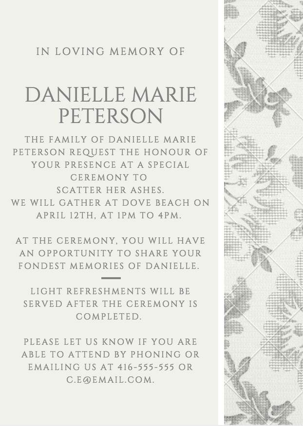 funeral fundraiser wording - Onwebioinnovate - fundraising invitation samples