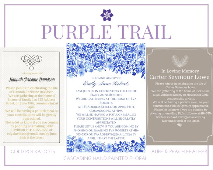 39 Best Funeral Reception Invitations Love Lives On - funeral ceremony invitation
