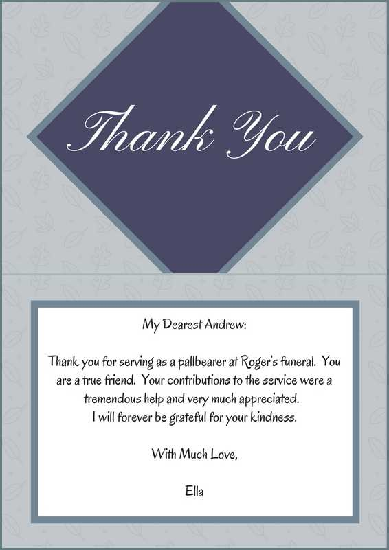 33+ Best Funeral Thank You Cards Love Lives On - Thank You Note