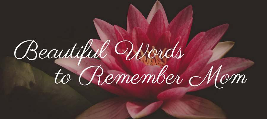 Husband And Wife Love Quotes Wallpapers 21 Remembering Mom Quotes Love Lives On