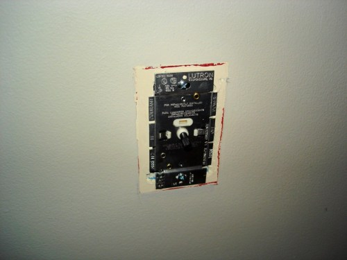 guest post installing a dimmer switch. Black Bedroom Furniture Sets. Home Design Ideas