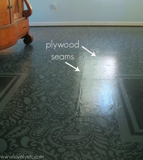 Medium Of Painted Plywood Floors