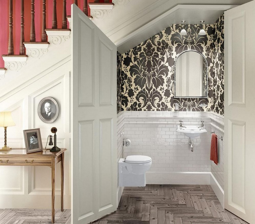 Life In a Floating House - decorating ideas for small bathrooms