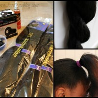 Natural Hair Protective Style #4 {High Bun} + Happy Monday Twitter Linkup #11