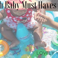 3 Beach Baby Must Haves