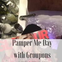 Pamper Me Day with Groupons