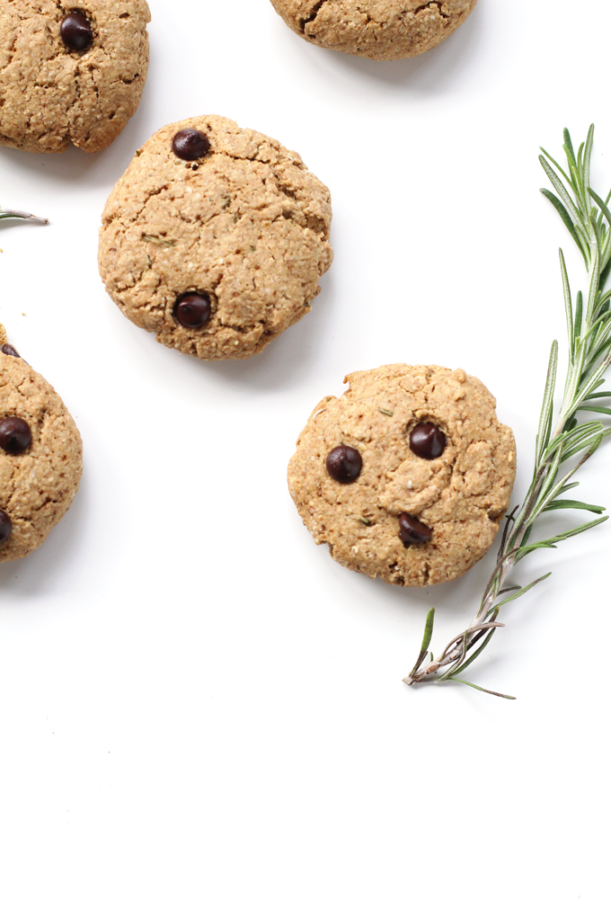 ... rosemary chocolate chip cookies might be my favourite cookies in the
