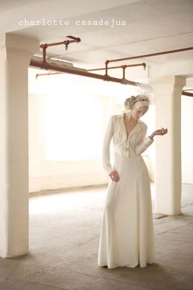 Charlotte Casadéjus ~ Antique Lace Wedding, Evening Dresses & Accessories…