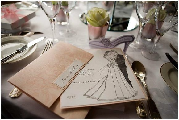 Rebekah Daley Wedding Stationery ~ Vintage & Hollywood Glamour Inspired Paper Prettiness…