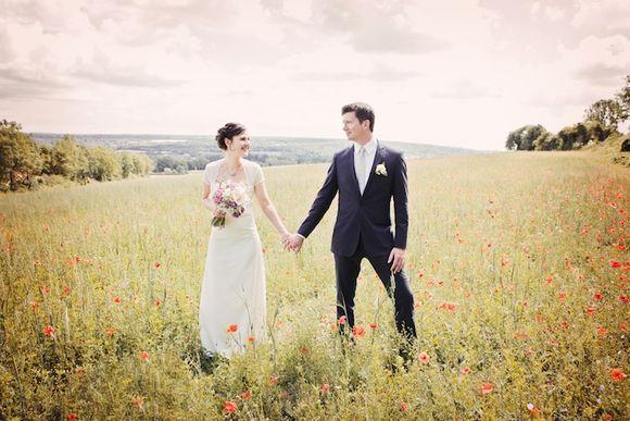 A Vintage Style English Country Garden Wedding…