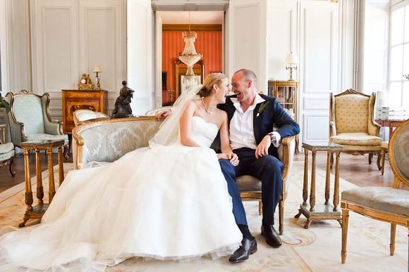 A Multi-Coloured, Rustic, French Chateau Wedding…