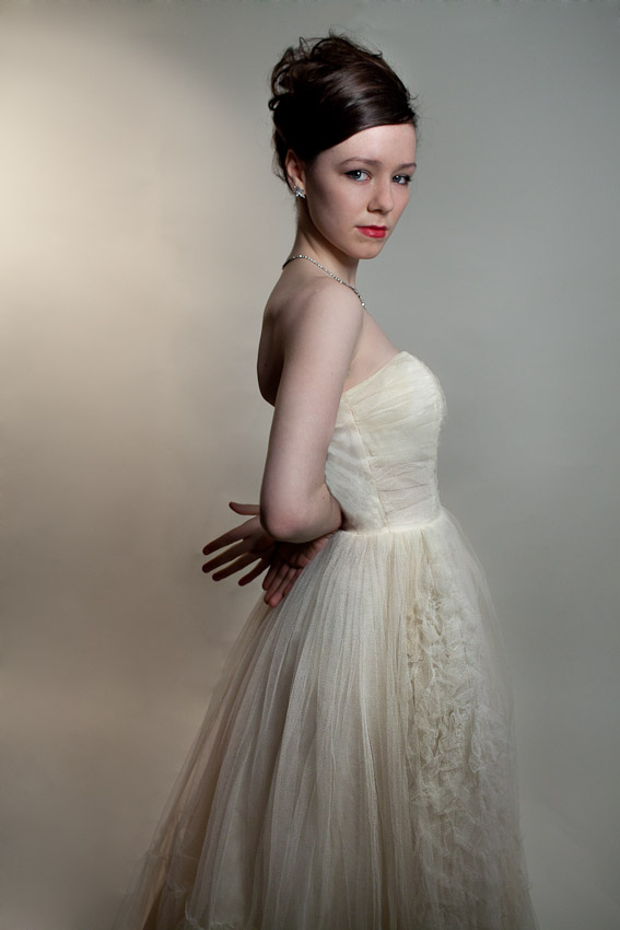 Mad Men Inspired Vintage Bridal Fashion…