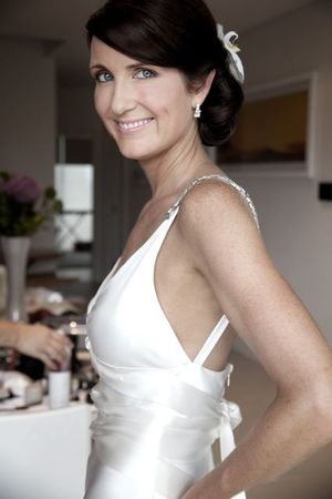A Very Elegant Johanna Johnson Bride…