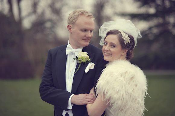 A Jesus Peiro Wedding Gown for an Elegant London Bride…