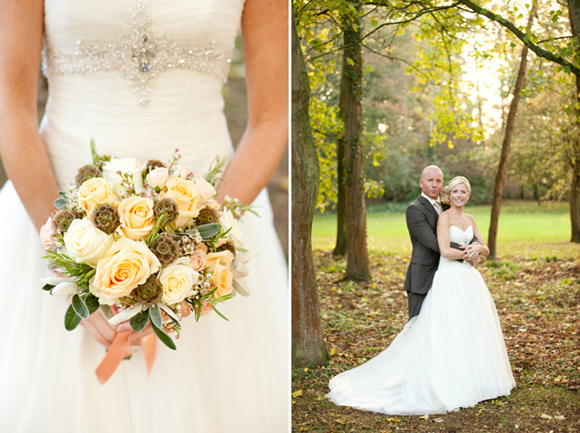 A Woodland Inspired Wedding in Pretty Peach and Blush Pink…