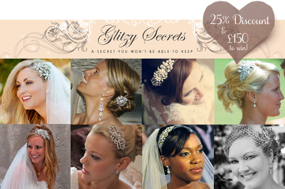 Glitzy Secrets 'Sparkle Week' ~ 25% Discount For All Readers + £150 Voucher To Win…