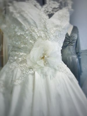Time For Tea ~ Tea Length Wedding Dresses by Independent Dress Designer, Joanne Fleming…