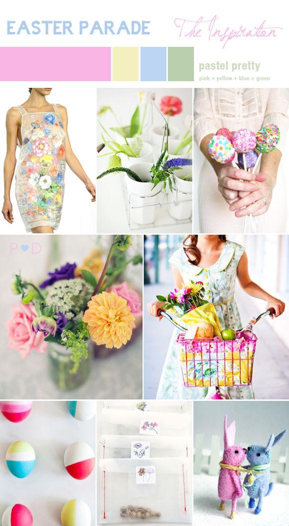 Bridal Inspiration Board #39 ~ Easter Parade…