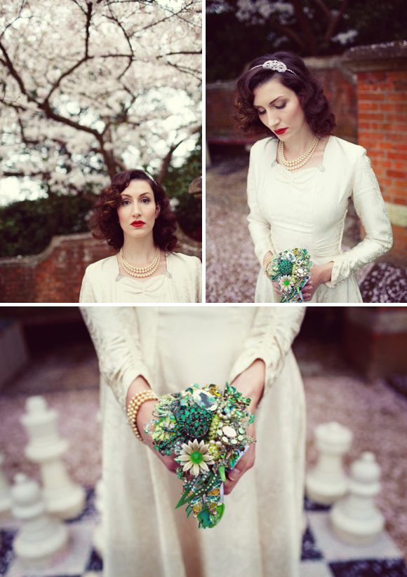 Deco Debutante ~ A 1930s Inspired Styled Bridal Photoshoot Featuring Fleur De Guerre…