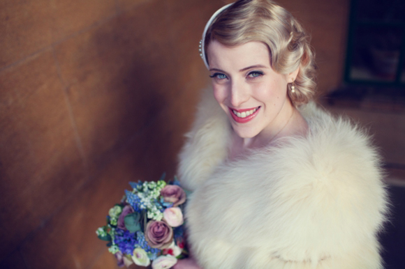 The Glamour of the 1920s and 1930s for an Elegant, Art Deco Inspired Wedding at Eltham Palace…