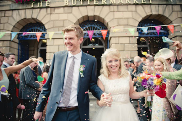 A Colourful, DIY, Vintage Inspired Town Hall Wedding…