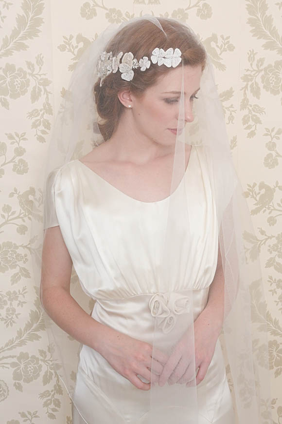 Emmy ~ Glamorous and Vintage Inspired Bridal Headpieces…
