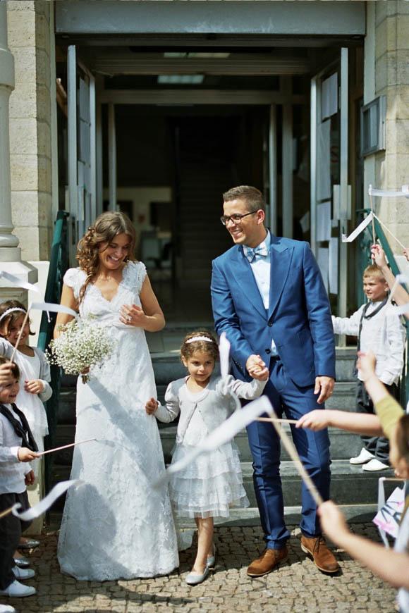 A Cymbeline Wedding Dress for a Beautiful French Bride…